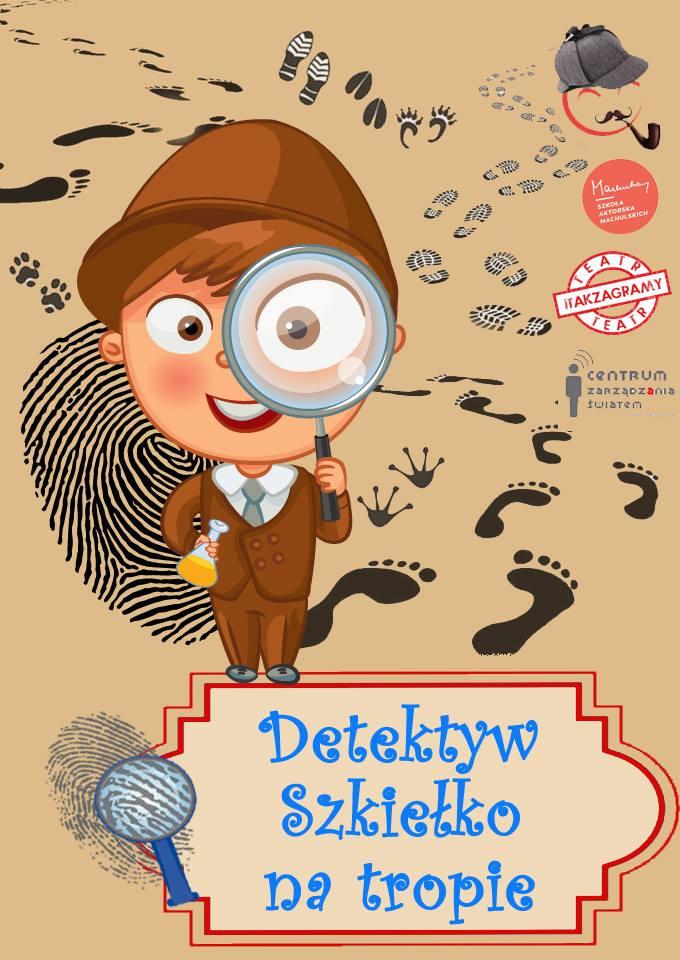 detektyw Szkiełko plakat